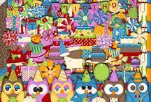 Hoot of a Birthday / by Touched By A Butterfly
