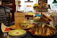 Vintage Tea Rooms / Photos and reviews of vintage tea rooms visited.