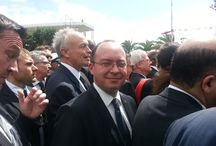 Participare ministrul Bogdan Aurescu la marș de solidaritate împotriva terorismului, Tunis / (foto: MAE)