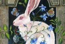 Peintre (Janie Olsen) / Animalier dans un univers onirique