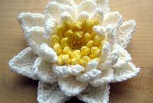 Flores que inspiran... / Inspiración para tejer, coser y realizar flores. Tutoriales, esquemas y patrones.