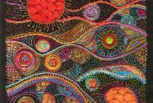 textielschilderij