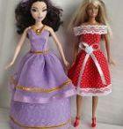 Střihy hračky panenky