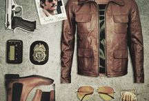 70/80's - Narcos clothing