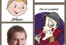 Kooky Character Voices / Jonathan Murphy's character voice overs. He's the inspiration behind Geek Club Books.