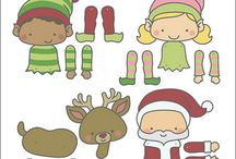 Kids Christmas / Playgroup craft ideas.