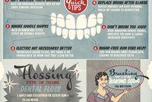 Infografiche / Una raccolta di infografiche dedicate ai dentisti.
