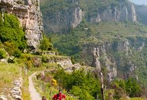 Hiking destinations, Italy