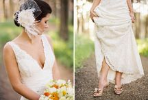 Bride Style / Dress, accessories, hair, and makeup ideas for the big day