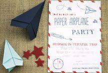 Paper plane party