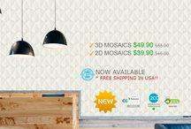 2D & 3D Mosaics