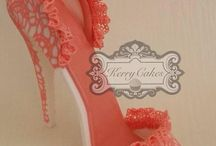 Cake decorating - shoe