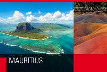 """Mauritius / """"Quando Dio creò il Paradiso, lo fece a immagine di questa isola"""". (Mark Twain)"""