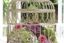 Floral Birdcages Ideas / Floral Birdcage Designs
