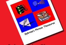 Sybrina's Phrase Thesaurus / Improve your writing skills...Increase your command of the English language. 4 Volume Set.  Tens of thousands of creative phrases.  Hundreds of categories.  Excellent writers aid.  Fun to read, too.