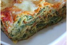 Ricotta lasagnes