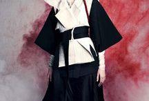 Samurai inspiration board for tailoring