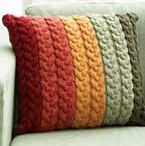 Aran knitting per la casa