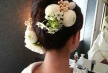 wedding hair waso