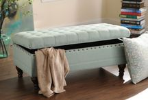 storing benches bedroom