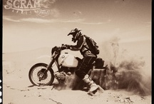 Scram Africa  / A trip to desert for classic motorcycles