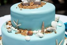 Beach Wedding Cake & Desserts / Cake, Beach, Destination, Aruba, Party, Cupcake, Desserts, Hyatt, Wedding, Desserts, Venue, Reception, Dinner, Party, Design, Sweet, Ocean, Chef, Pastry, Cooking,