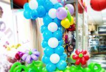Мои работы из шаров