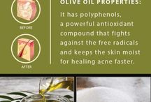 Olive Oil ++ | Skin Hair Care / Mother nature provides so many natural alternatives for healthy skin and hair, olive oil being a key protagonist!