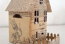 casita cartón Belén