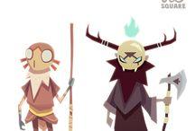 Characters Evil villain / Villain designs that inspire me