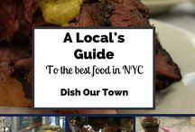 NYC Foodies / What is a city if not for its food?  New York has some of the best noshes!