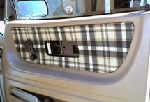 Car re-upholstery && DIY / by Shealee Cagle