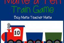 Preschool Trains