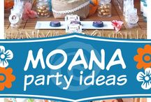 Moana Birthday Ideas