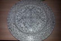 Seramik-Porselen / Seramik-Porselen desen calismalari