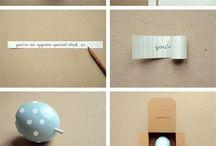 Bedankjes/Cadeautjes / DIY gifts :)