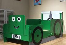 Tractor Ted / A bed we have designed for the brand Tractor Ted. http://www.tractorted.co.uk/