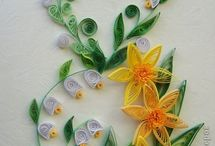 Quilling: Flowers