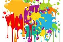 color texture shape / by Michelle Wilkinson