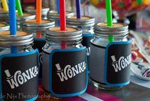 Wonka birthday party