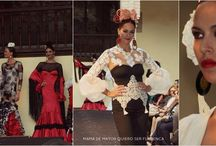 Moda Flamenca en Congreso Internacional de Flamenco / 15 noviembre en Cordoba. Desfile colaborativo. 5 diseños de Rosalia Zahino en el II Congreso Internacional de Flamenco