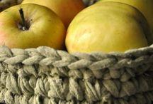 Recycled - crochet (Ekologiczne szydełkowanie) / Pomysły na robótki szydełkowe z materiałów, pochodzących z recyclingu.