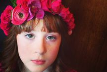 Floral Crowns / designed by Juniper Flowers
