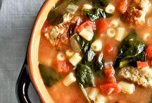 Soups & Chowders / Soup Recipes / by Nancy Pullia