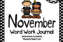 November Teaching
