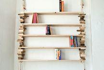 półka na książki / inspirujące pomysły