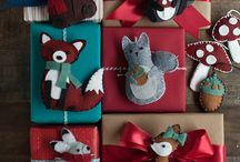 Wild the Holidays / Ornaments and wrapping paper - the wilder the better!