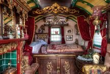 Caravan / Inside, outside, all sides. Caravans! / by Shawna Jones