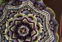 Háčkování Persiantiles blanket