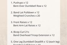 workouts / by Lindsey Nelson